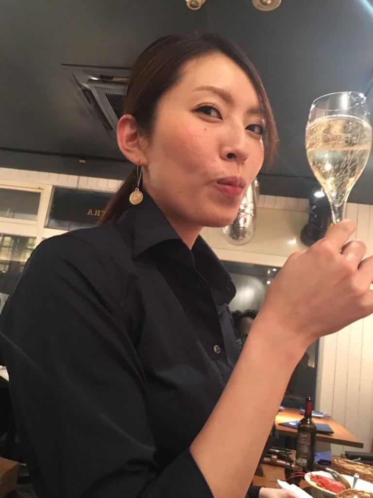たえみ_シャンパン